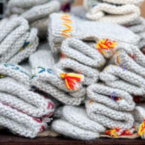 """""""Lovika"""" wool mittens"""