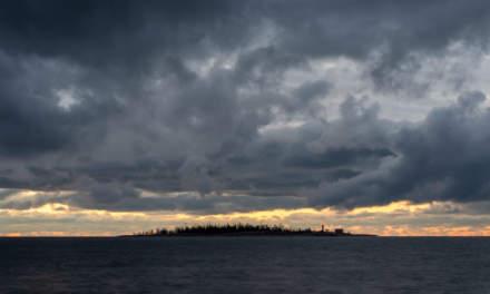 Morning view on Gåsören