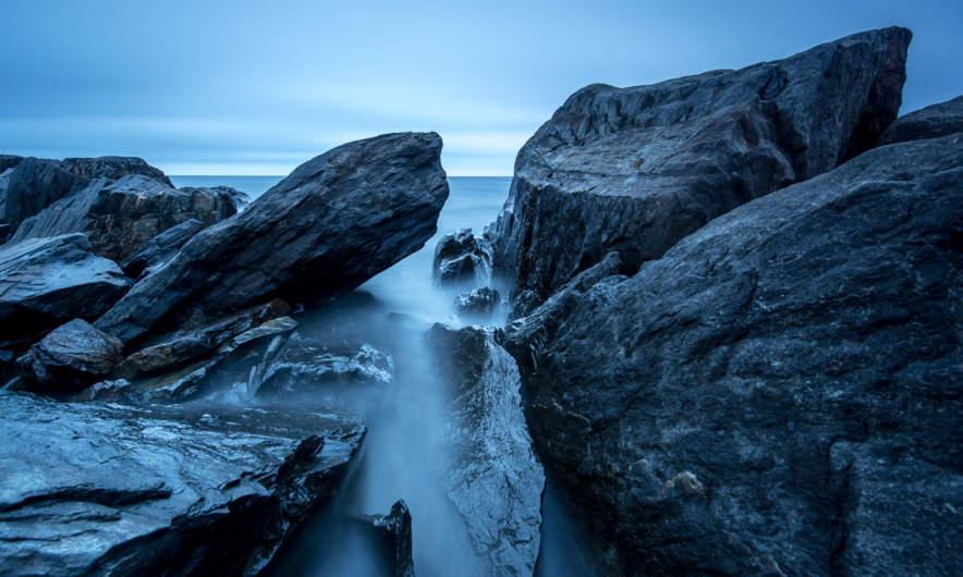 Rocks at Långhällan