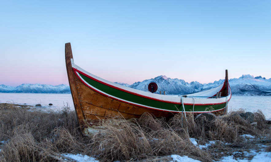 A traditional Nordland boat