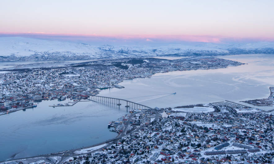 Tromsø in the morning