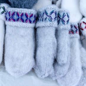 """Woolen """"Lovikka"""" mittens"""