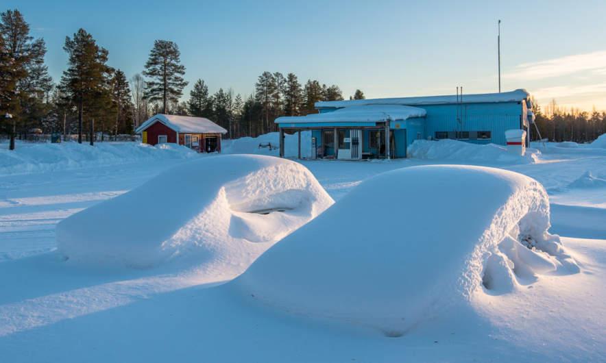 Petrol station in Tärendö