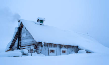 Snowed in barn (entrance on the other side)