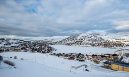 Hammerfest: View from above