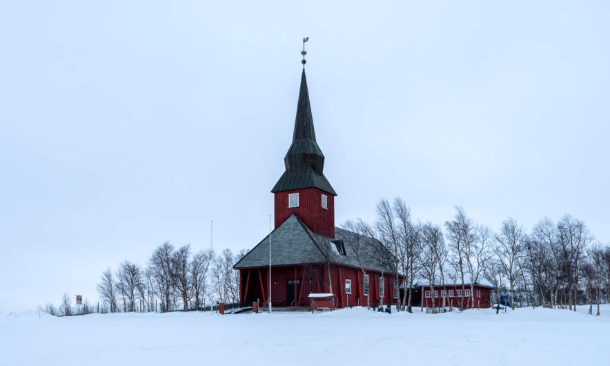 The church of Kautokeino