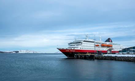 Hurtigruten ship Kong Harald
