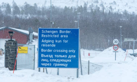 The Russian border