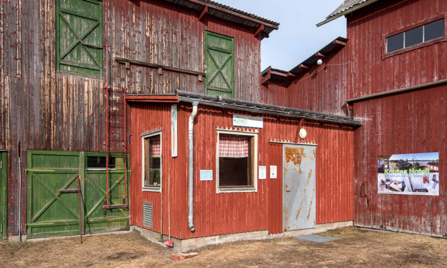 """Gårdsbutik"" – farm shop in Svansele"