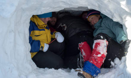 How many fit into the igloo? All!
