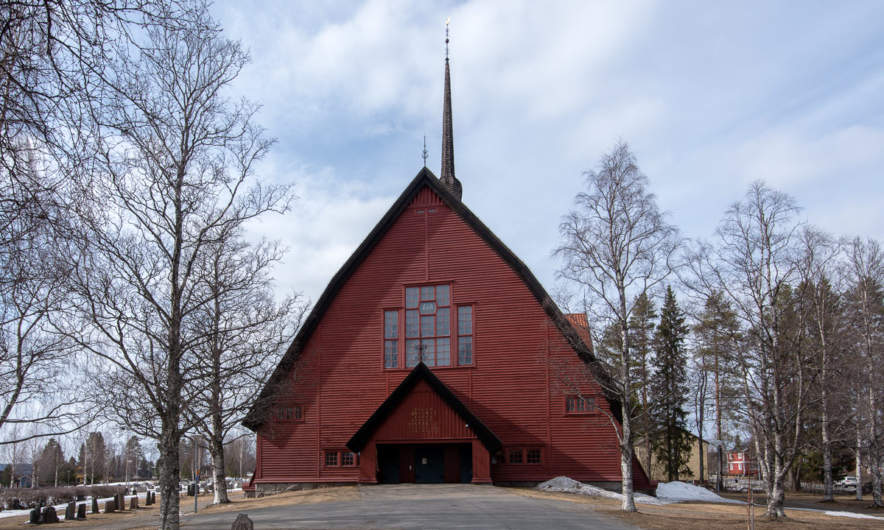 Norsjö Kyrka – the church in Norsjö