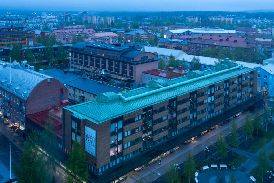 Umeå from above