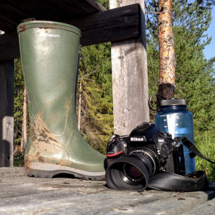 New Rubber boots and new lens