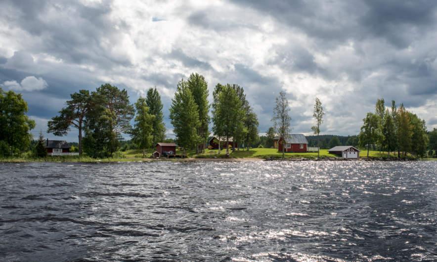 Boat tour on the Göksjön