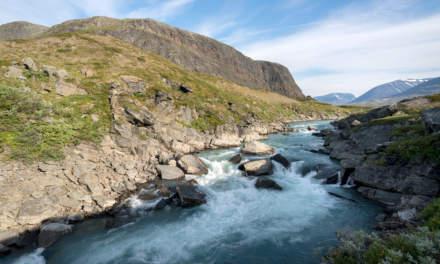 Tjäktjajåkka rapids