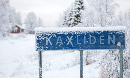 The village Kaxliden