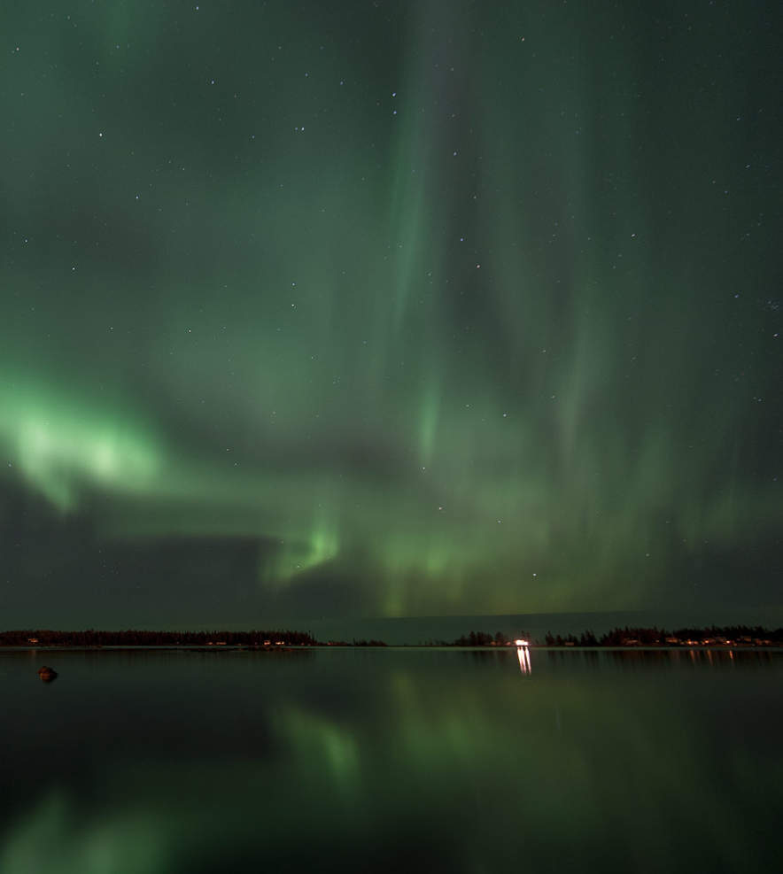 Northern Lights in Skelleftehamn