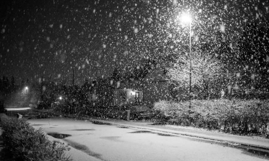Snowflakes in Skelleftehamn