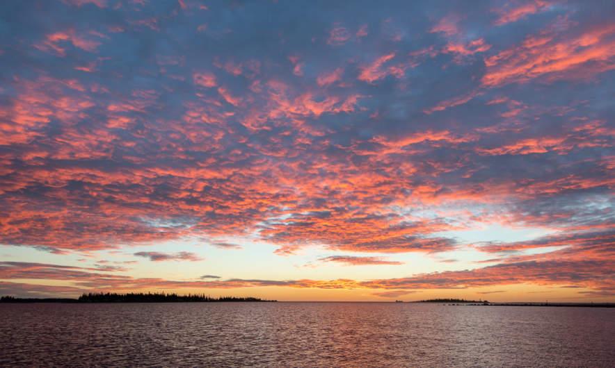 Sunrise, 3. November