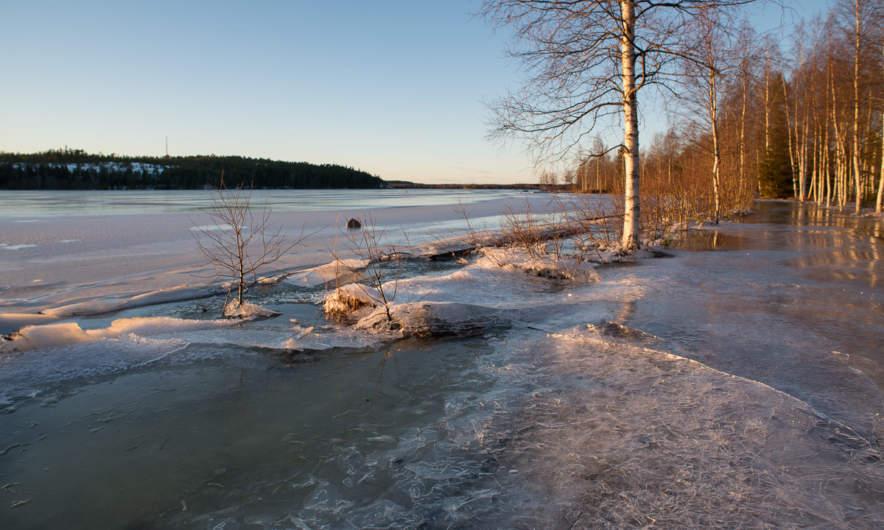 Flooded Skellefteälven I
