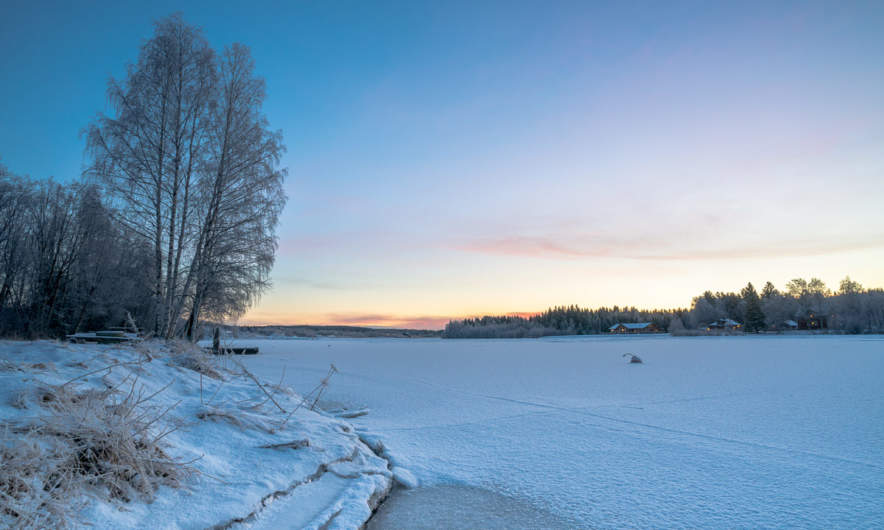 Skelleftea river near Stackgrönnan