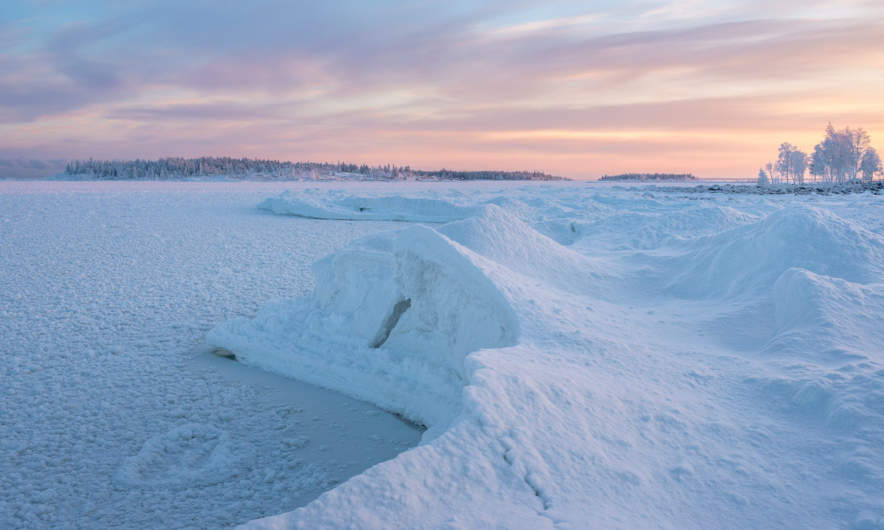 Ice edge behind Storgrundet