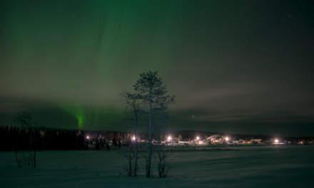 Aurora over Käymäjärvi