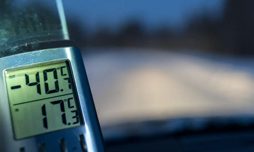 -40.7 °C in Käymäjärvi
