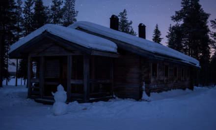 A dark cabin