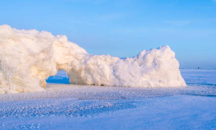 Ice wall I – archway