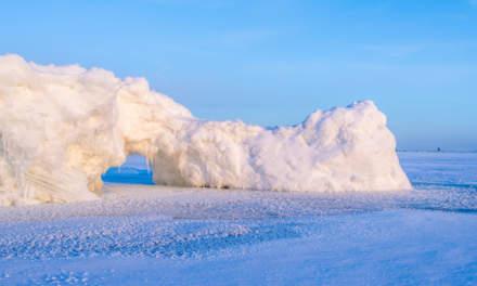 Ice wall I –archway