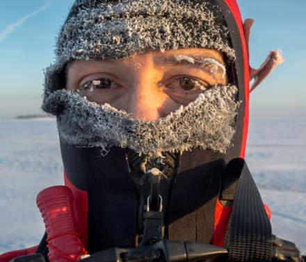 Selfie III: Icy eyelids