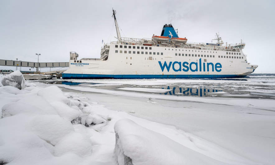 The Wasaline ferry