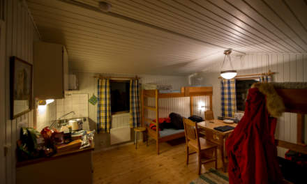 My cabin in Nikkaluokta