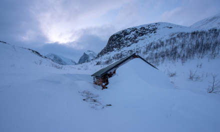 A shack near the Kebnekaise Fjällstation