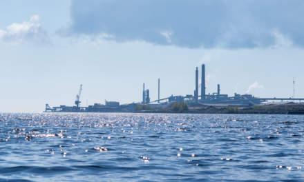 Skellefteå harbour