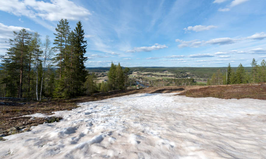 View from Ågnäsbacken