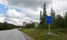 km 285 – again the Swedish border. Now I really left Norway.