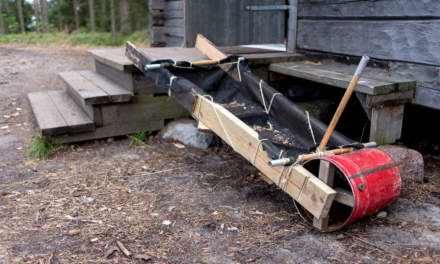 A do-it-yourself pushcart