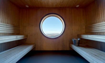 Blåhammaren fjällstation – the sauna