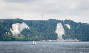 The chalk cliffs of Jasmund