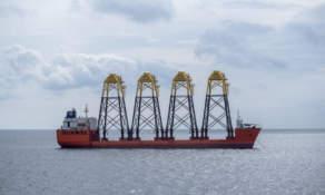 Dockwise vessel