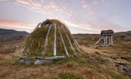 A lavvu – a traditional sami dwelling