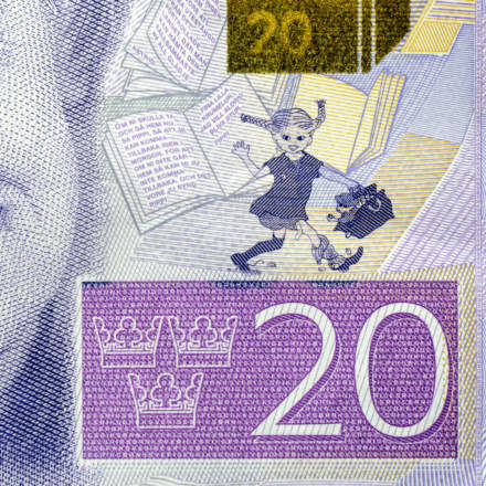 The new 20 kronor bill