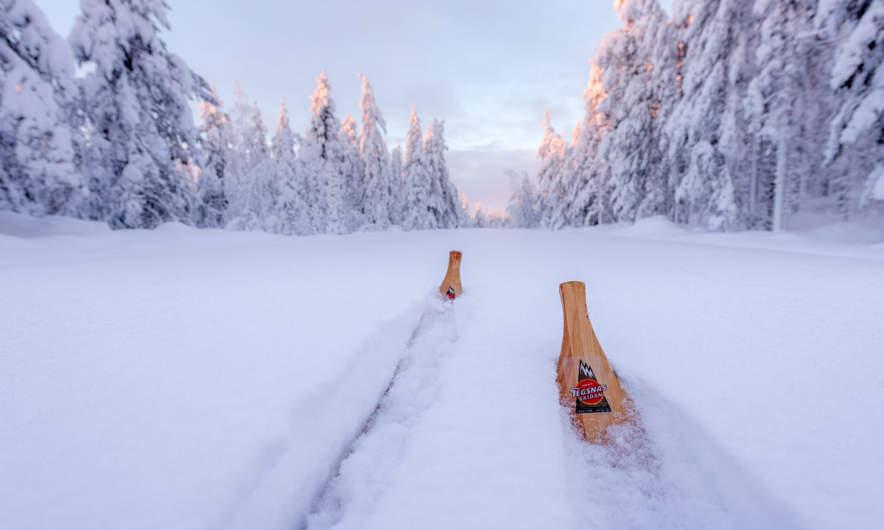 Skiing the Solbergsvägen