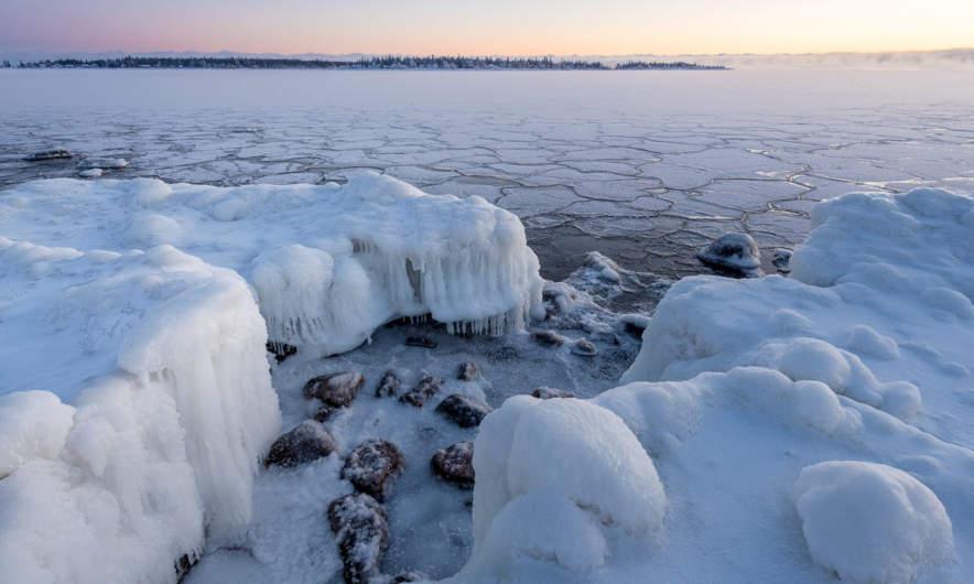 Frozen coast in Skelleftehamn II