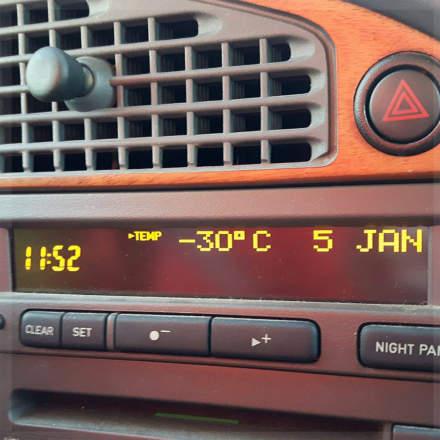 -30 °C in Örviken