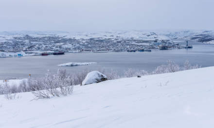 View over Kirkenes
