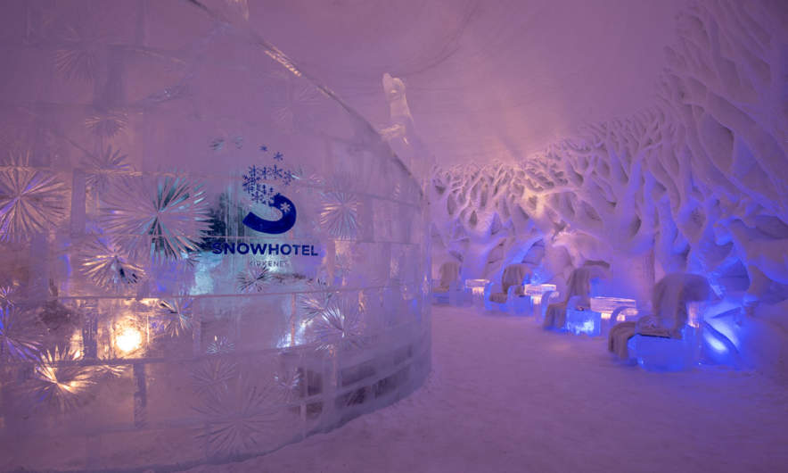 Kirkenes Snowhotel –the lounge