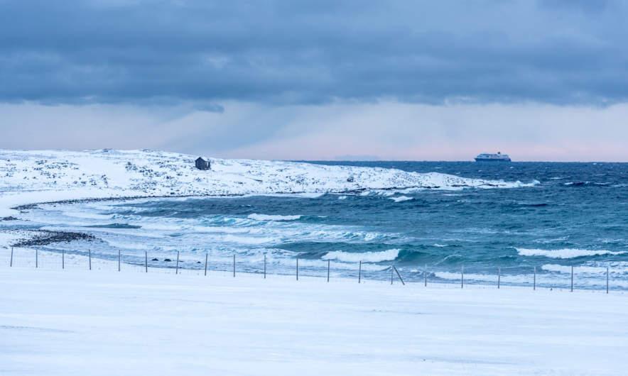 The Hurtigruten vessel Trollfjord